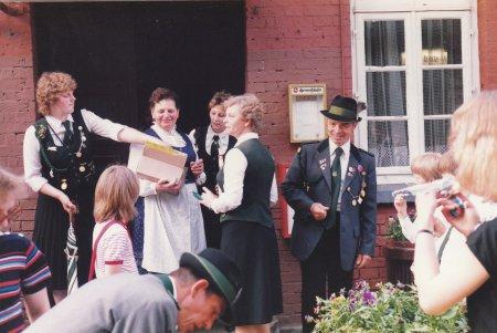 1983 - Empfang bei Tante Frida
