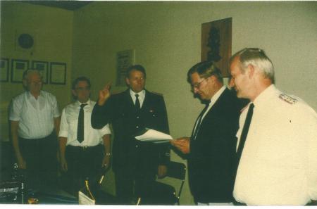 1989 07 07 Uwe Lindh wird Wehrführer