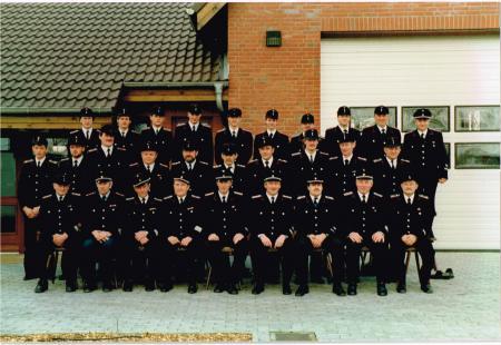 1990 Gruppenbild der Kameraden