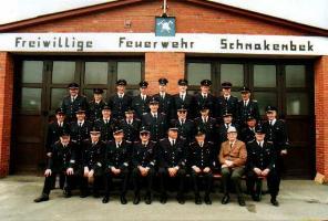 1996 06 19 FF Schnakenbek Gruppenfoto