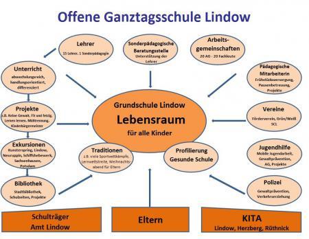 Organigramm der Schule