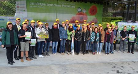 2. Platz: Klasse 10 des Ernst-Haeckel-Gymnasiums Werder (Havel)