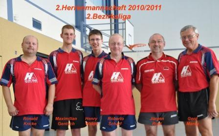 2.Herrenmannschaft TT 2010.jpg