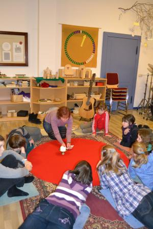 Kinderkirche im Godly-Play-Raum
