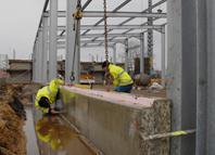 2013.01.30 Baustelle Neubau Gerätehaus Oschatz 1