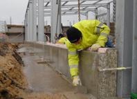 2013.01.30 Baustelle Neubau Gerätehaus Oschatz 2