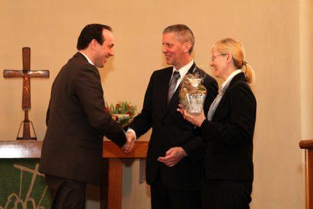 Verabschiedung Pfarrer-Ehepaar Buchenau