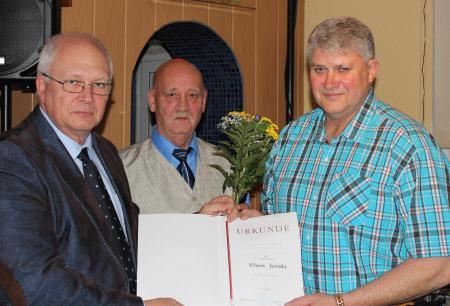 Auszeichnung Klaus Junski