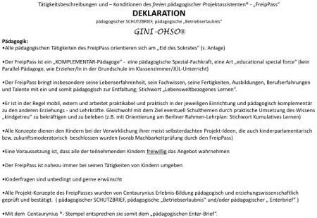Päd. Deklaration