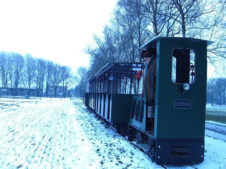 Moorbahn im Winter