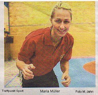 21. Sportlerumfrage Maria Müller Bild