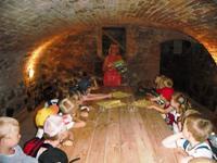 Kellergewölbe in der Schorfheide-Info