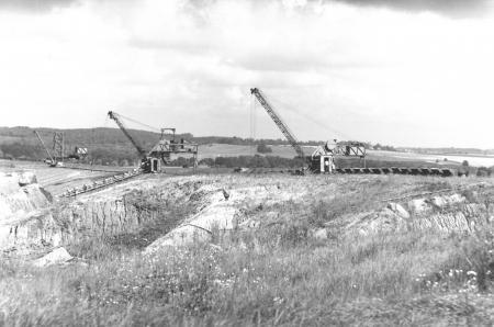 Tongrube südlich von Schlakendorf 1980