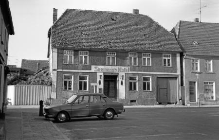 Das Seemann´s Hotel am Markt, Juli 1984