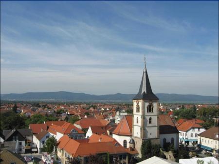 Christuskirche von oben klein