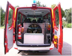 Fahrzeug und Ausrüstung Beladung