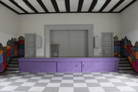 Aula der Grundschule