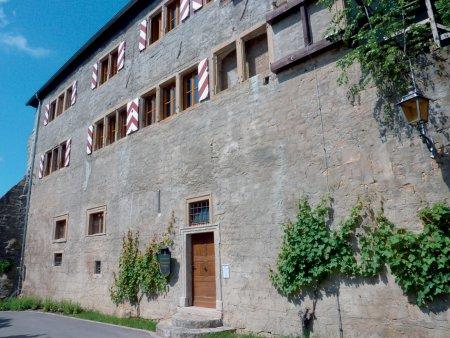 Eingang Weinbergmuseum