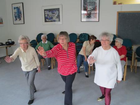 Osteoporose-Gymnastikgruppe