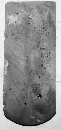 Dachziegel mit der Aufschrift J C Elers Anno 1782