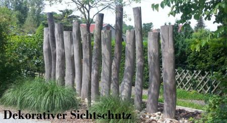 Dekorativer Holz-Sichtschutz Bautzen