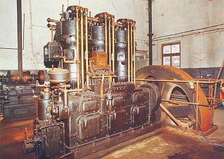 3-Zylinder-Groß- Diesel