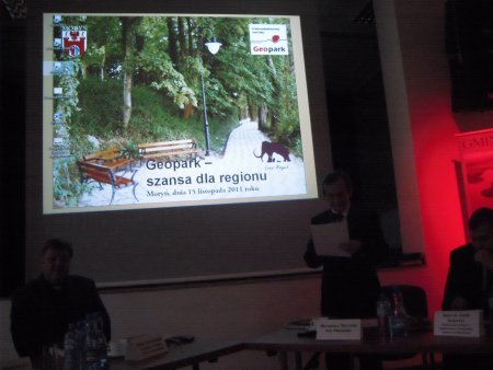 4. Beratung der deutsch-polnischen Arbeitsgruppe - Geoparkkonferenz in Moryń 15.11.2011