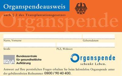 Organspendeausweis1