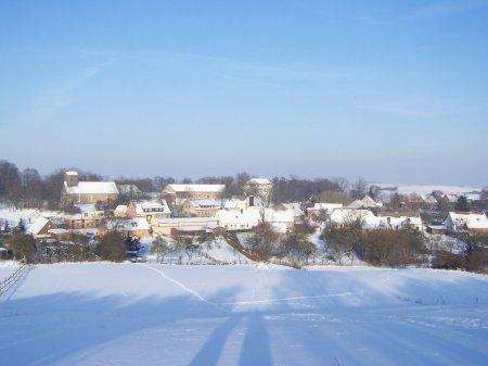 Zima Krajobraz Groß Fredenwalde