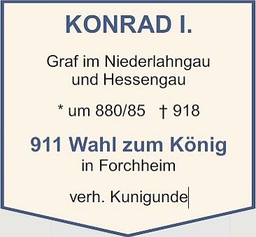 Konrad I. (Beschreibung)