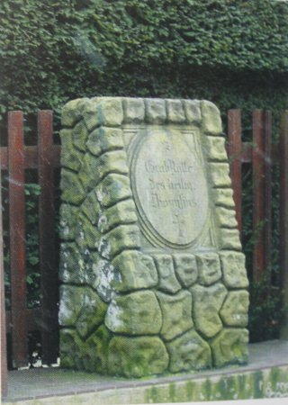 Dionysius-Grabstein von 1887 aus der Dionysiusstraße
