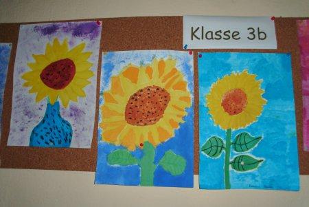 Kl.3 Sonnenblumen