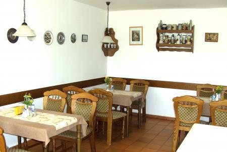 Frühstücksraum Hotel-Pension Moll