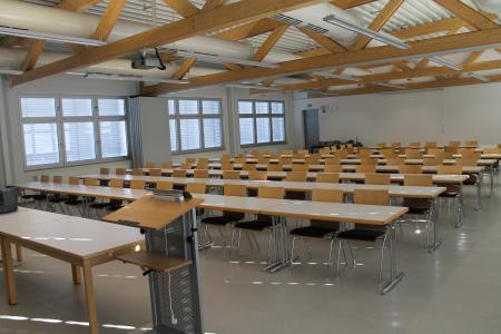Blick in den Lehrsaal