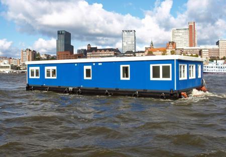 Auch schwimmende Container sind kein Problem!