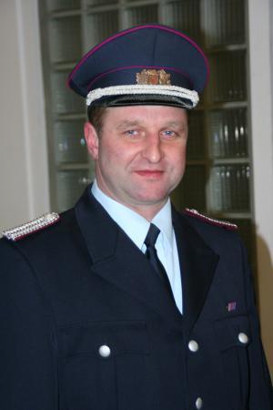 Brandmeister Volker Gohrenz