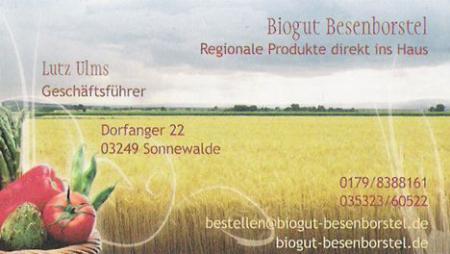 Biogut Impressum