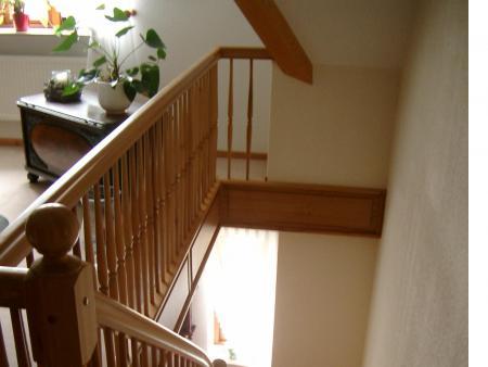 Treppe aus Ulme 1