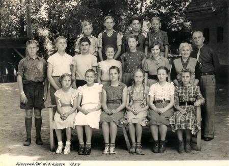 Klasse 8 1954