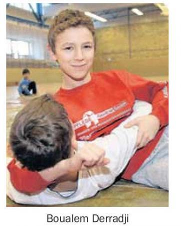 OVZ 2013.02.16 Treffpunkt Sport Sportlerumfrage Boualem Derradji Bild