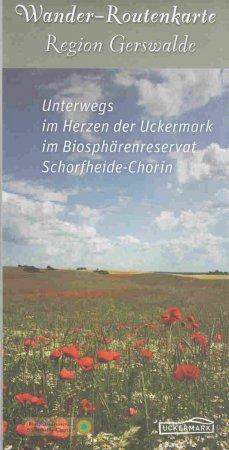 Deckblatt Wanderkarte