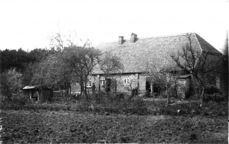 Ansichtskarte von 1911, Haus Lange in Warsow