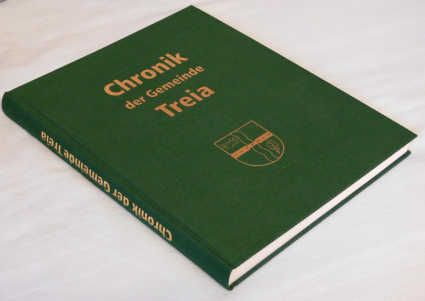 Chronik der Gemeinde Treia - aufgeschlagen