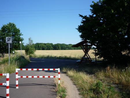 Wanderhütte am Radweg