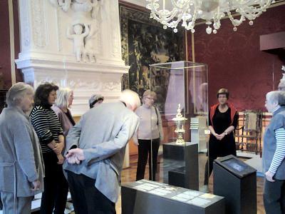 Die Glanzlichter – Fünf Meisterwerke aus der Silberkammer der Celler Residenz -