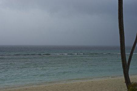 Wolken Wellen