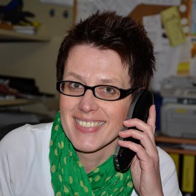 Vorsitzende Sabine Kaiser