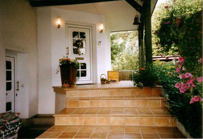Pension Blüthmann Eingangsbereich