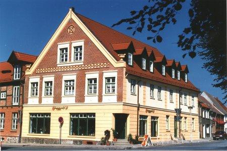 Das Haus Markt 2 nach der Sanierung (Aufnahme 1996)
