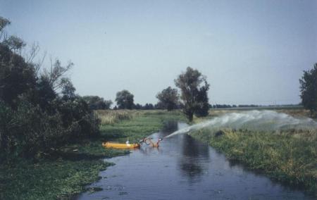 Abb. 18 Instandhaltung der Hauptvorflut